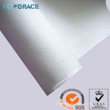 ECOGRACE buena estabilidad térmica tejido de poliéster filtro de polvo de tela