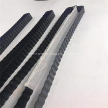 Tubo de resfriamento da bateria de alumínio com revestimento preto