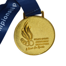 Hottest gold silver copper rose gold metal  zinc alloy sports marathon medals custom medal/medallion