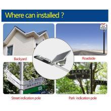 Waterproof Rainproof IP65 12W LED Solar Street Light