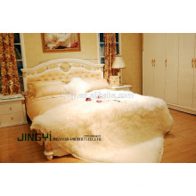 Wholesale Tibetan Mongolian Lamb Fur Skin Blanket