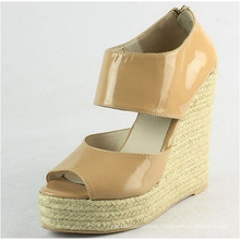 2016 Fashion Wedge Ladies Sandals (HCY02-565)