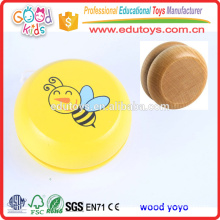2015 Hot Sale Kids Play Cheap Toy Wooden Yoyo