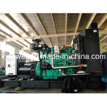 Conjunto de gerador de diesel silencioso Cummins 500kw