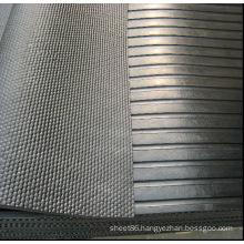 Interlocking Black Anti-Slip Rubber Cow Mat