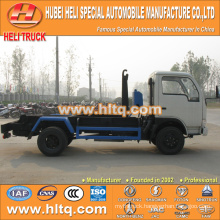 4X2 small tank DONGFENG brand 5m3 95hp new style garbage truck high efficiency and environmental protection in China