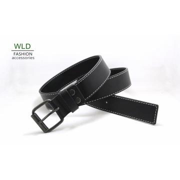 Fashion Basic Genuine Top Leather Men′s Belt Lky1193
