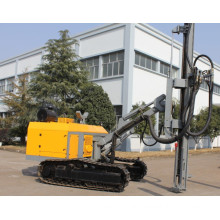horizontal drilling rig for opencast mining