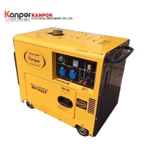 Top Brand 1.9-12kVA 954L Soundproof Single-Phase Small Portable Diesel Generator