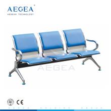 AG-TWC002 placa de acero laminado en frío sala de espera del banco del hospital