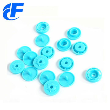 Round Plastic Snap ButtonT5 Baby Clothes Snaps Fasteners