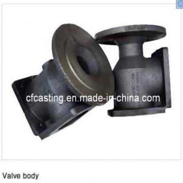 Piezas de fundición de válvulas personalizadas con fundición de arena