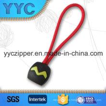 Extractor colorido de la cuerda de alambre de la cremallera del diseño para el desgaste de los deportes