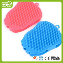 Double-Faced Bath Brush Pet Product