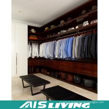 Grand garde-robe de chambre à coucher en bois solide de stockage (AIS-W363)