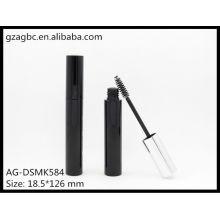Гламурный & пустые пластиковые круглые тушь трубки АГ DSMK584, AGPM косметической упаковки, логотип цвета