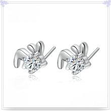 Brinco de cristal moda jóias 925 jóias de prata esterlina (se142)