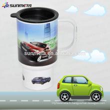 Tasse de voyage en polymère, tasse en plastique sublimée vierge, tasse personnalisée, tasse imprimée pour logo