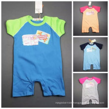 Baby Romper Summer Jumpsuit/Romper 100% Cotton Stock Apparel for 0m-24m