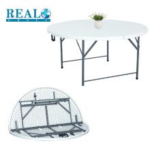 Alta qualidade HDPE dobrável camping mesa de piquenique