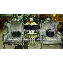 Nova cadeira de sofá de luxo estilo clássico para sala de estar XYD144