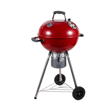18 '' Deluxe Weber Style Grill Röd