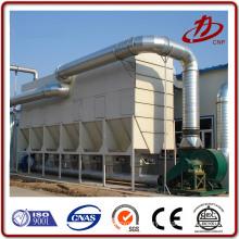 Suspended solid discharge standard bag filter