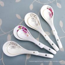 Haonai Ceramic Spoons set ,Porcelain Measuring Spoons Set
