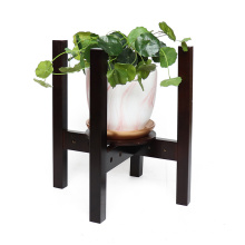 Good quality adjustable solid bamboo wood plant stand indoor wooden plant stand for flower pot