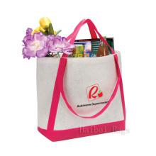 Фетровая большая сумка с ремешком контрастного цвета (hbfe-01)