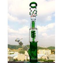 Enjoylifeworld Top Selling Rauchen Pfeife Hbking Pipes Hb-K41 Spiral Coil Glas Wasser Pfeife Rauchen Pfeife Inline Perc Glas Wasserpfeifen Öl Rig 14mm Gelenk