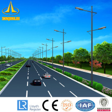 hot galvanized steel street lighting pole