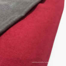 97% Polyester 3% Nylon Velvet Fabric Flannel Poly Fabric