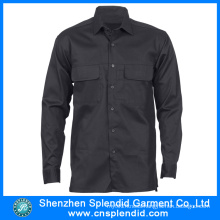 Wholesale Working Clothes Mens Long Sleeve Security Shirts