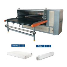 Mattress packaging machine high efficiency