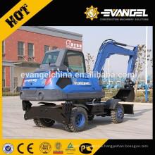 USED 8Ton Mini Wheel Excavator WYL85 For Sale