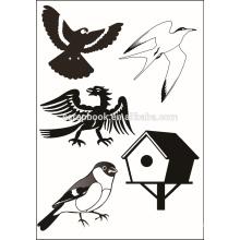 Niedliche Tier-Design klar Briefmarken für Papierherstellung Sammelalbum