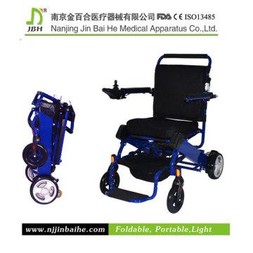 Faltende Kraft Rollstuhl für Behinderte