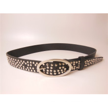 2014 Fashion Latest PU Rivet Belt /Metal Belts (JPMD201401)