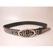 2014 Moda Último PU Rivet Belt / Metal Belts (JPMD201401)