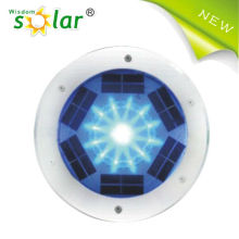 Outdoor CE RGB color changing Lamp LED solar underground solar pavement light