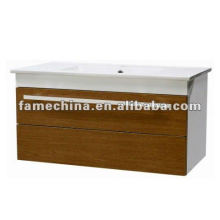 Wall Hung Simple MDF Bathroom Vanity/cabinet free paint door