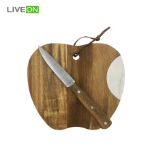 Tagliere Apple Sharp con coltello