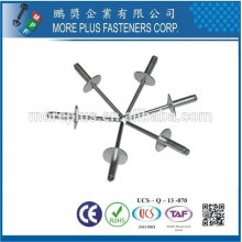 Made in Taiwan Stainless Steel Copper Brass Structural Steel Monobolt Rivet