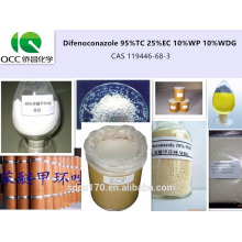 Alta calidad Agroquímica / Fungicida Difenoconazol 95% TC 25% EC 10% WP 10% WDG CAS 119446-68-3