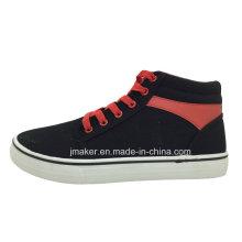 High Ankle Men′s Skateboard Sport Shoe (J2327-M)