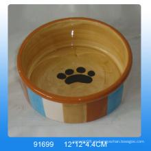 Alimentador de cerámica de alta calidad para perros
