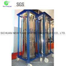 Cylindre cryogénique d'isolation, cylindre cryogénique à volume 275L à vendre