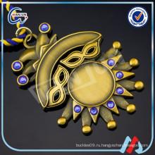 Золотая 3D-кристалла Бланк Медаль