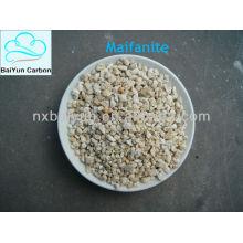 Granular maifanite filter material for water treatment